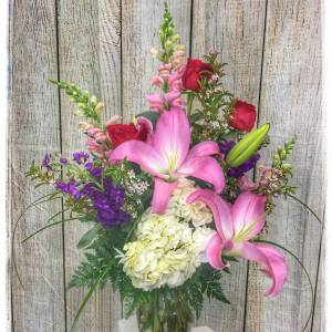 Flower Arrangement by Petals Flower Shop & Florist