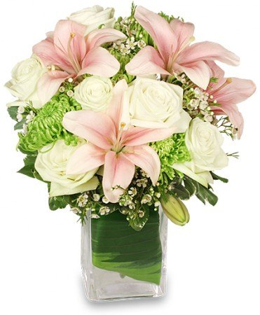 HEAVENLY GARDEN BLOOMS FLOWER ARRANGEMENT
