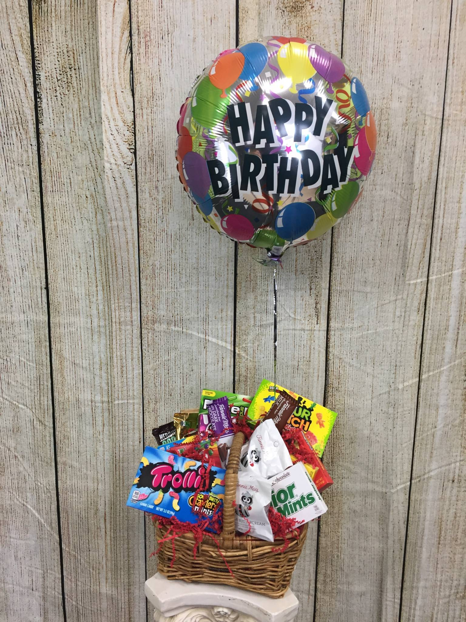 Custom Candy Gift Basket
