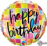 18 inch Birthday Kaleidoscope