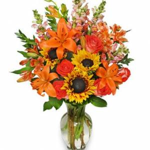 Fall Flower Gala Flower Arrangement