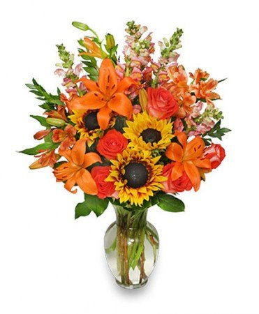 Fall Flower Gala Flower Arrangement