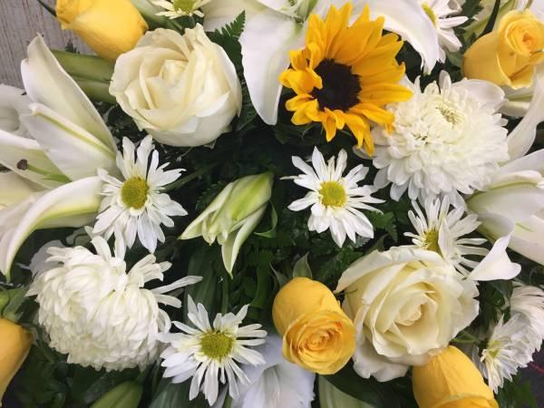Funeral Flowers by Petals Flower Shop & Florist