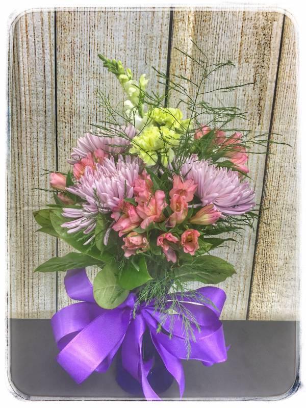Plum Perfection Fall Flower Arrangement