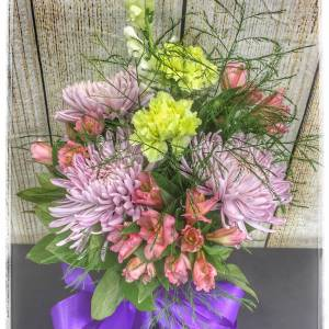 Plum Perfection Fall Flower Arrangement