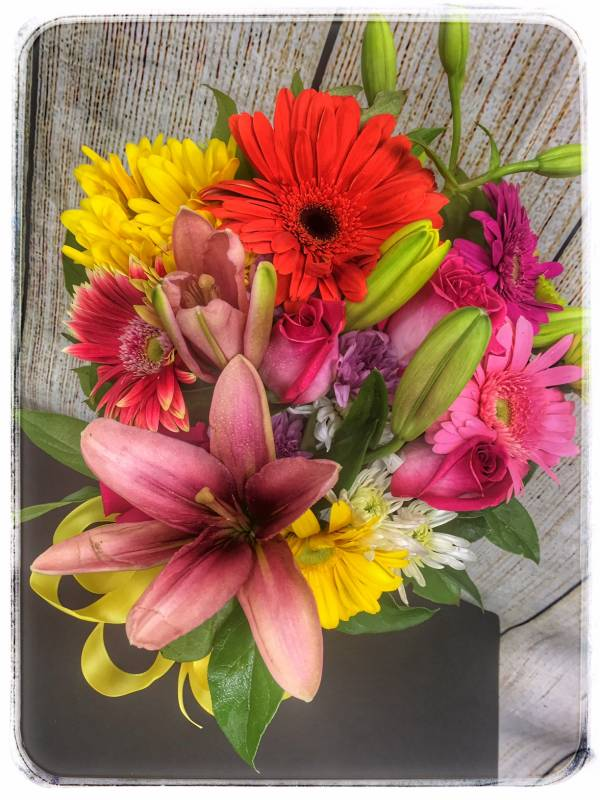 Giggle Me Gerbera Flower Arrangement