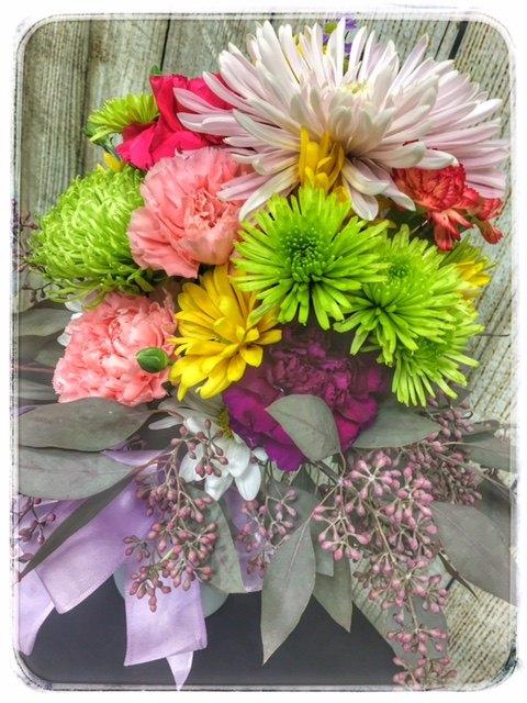 Autumn Greetings Flower Arrangement