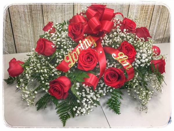 Funeral Flowers - LOVING TRIBUTE by Petals Flower Shop & Florist