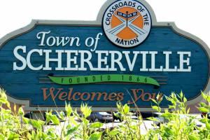 Town of Schererville logo
