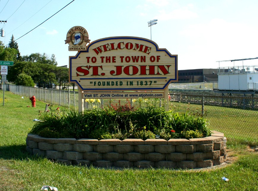 Town of St John logo