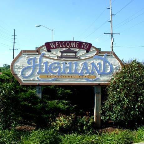 Town of Highland logo