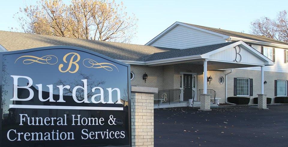 Burdan Funeral Home Cedar Lake Indiana