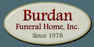 Burdan Funeral Home Logo Cedar Lake Indiana
