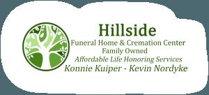 Hillside Funeral Home Logo