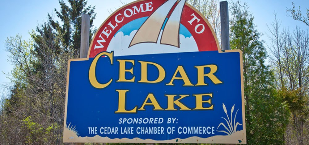 Town of Cedar Lake logo