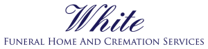 White Funeral Home Logo