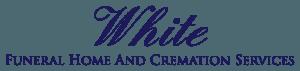 White Funeral Home Logo