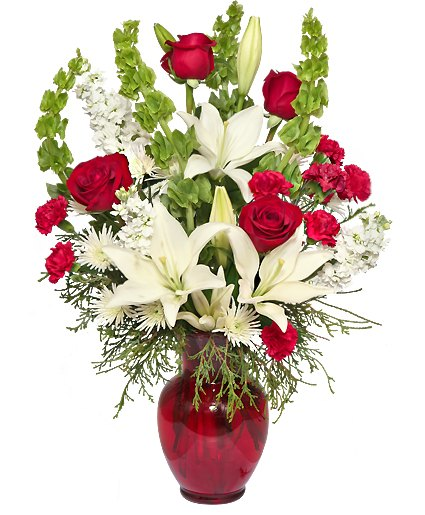 CLASSICAL CHRISTMAS Flowers From Petals Florist & Flower Shop