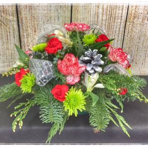 Christmas Blessing Centerpiece From Petals Florist & Flower Shop