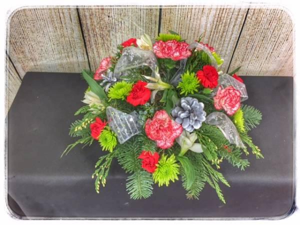 Christmas Blessing Centerpiece From Petals Florist & Flower Shop