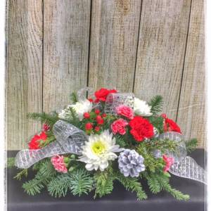 Christmas Classic Centerpiece From Petals Florist & Flower Shop