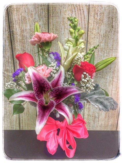 Stargazer Surprise By Petals Flower Shop in Dyer Indiana