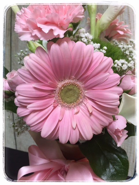 Pretty In Pink By Petals Flower Shop in Dyer Indiana