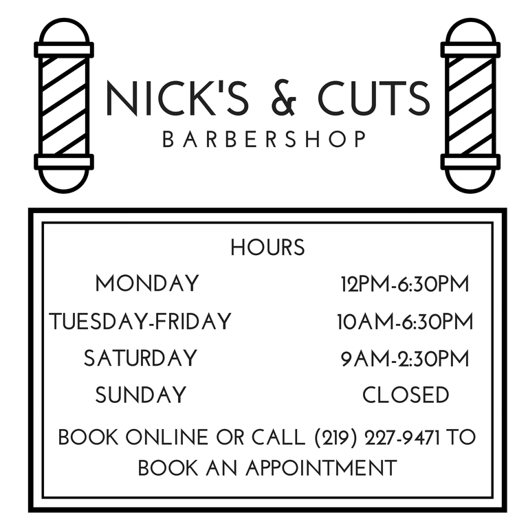 NICK'S & CUTS Logo