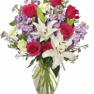 Winter Dreams Flower Arrangement From Petals Flower Shop & Florist in Dyer Indiana