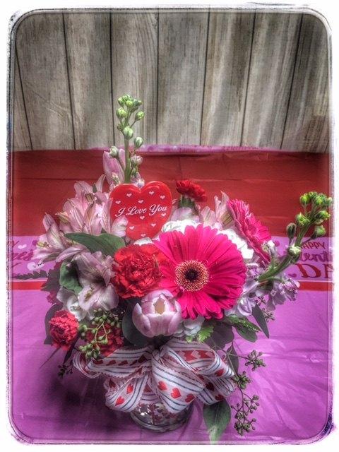 Loving You Valentine's Day Arrangement