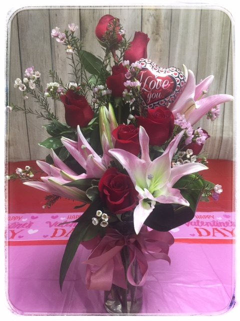 Ardent Expression Valentine's Day Arrangement from Petals