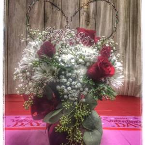 All My Heart Valentine's Day Flower Arrangement From Petals