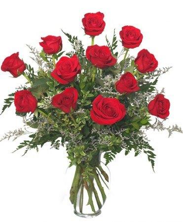 1 Dozen Red Roses