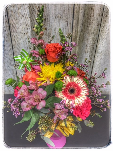 Seasons Of My Heart Spring Flowers by Petals. Locally Owned, 5 Star Florist. Order Online, Same Day Delivery. Free Personalization with every order.