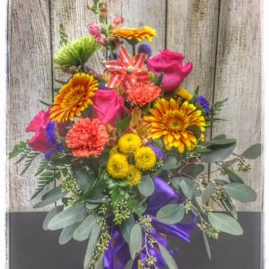 A Little Light Spring Flower Collection by Petals. Locally Owned, 5 Star Florist. Order Online, Same Day Delivery. Free Personalization with every order.