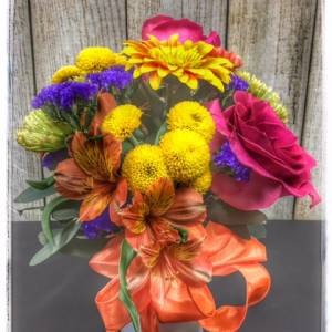 """Light"" spring flower arrangement from Petals"