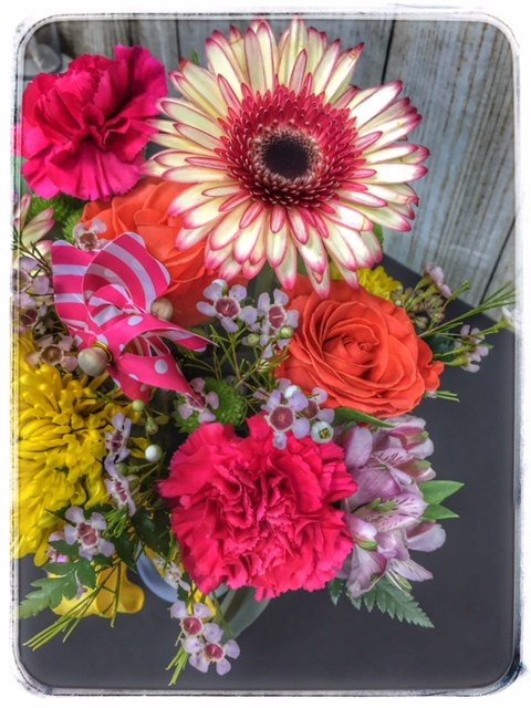 """Seasons"" spring flower arrangement from Petals"